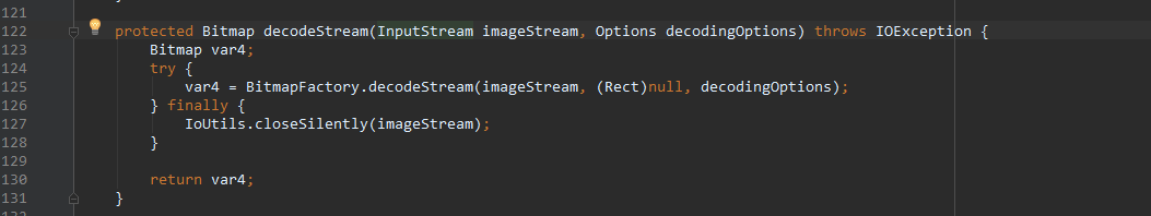 decodeStream